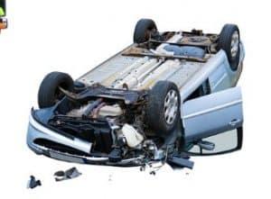 רכב אחרי תאונת דרכים